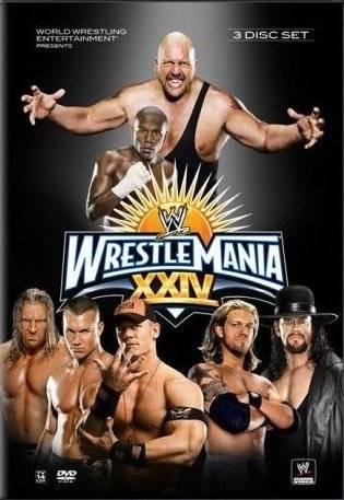 Wwe Wrestlemania 24 Dvd Cover 0