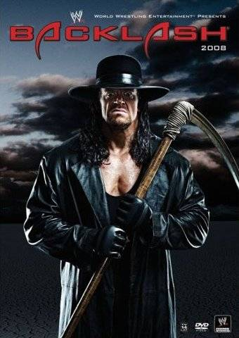 Wwe Backlash 2008 Dvd Cover