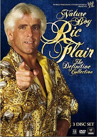 Nature Boy Ric Flair The Definitive Collection Dvd Cover