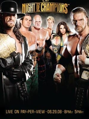 Wwe Night Of Champions 2008 Dvd Cover