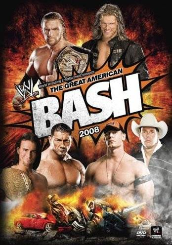 Wwe Great American Bash 2008 Dvd Cover 0