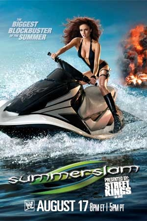Wwe Summerslam 2008 Dvd Cover 0