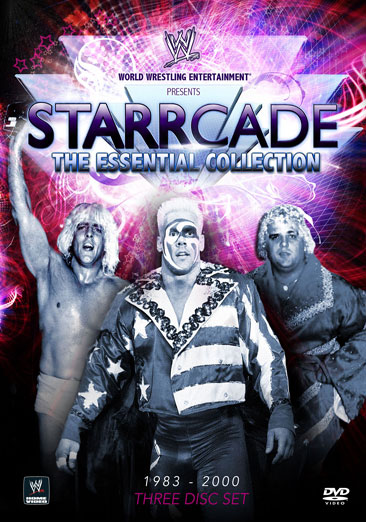 Starrcade The Essential Collection Dvd Cover