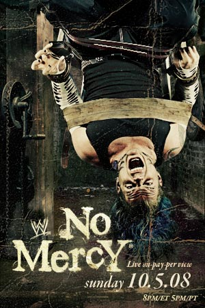 Wwe No Mercy 2008 Dvd Cover 1