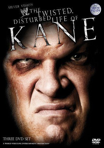 Wwe The Twisted Disturbed Life Of Kane Dvd Cover