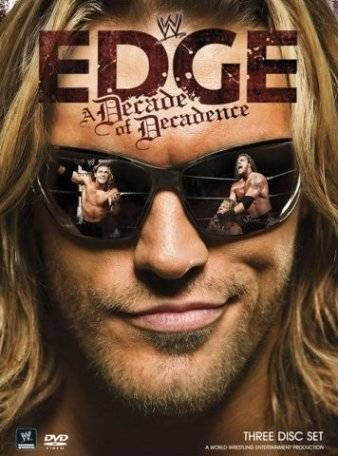 Wwe Edge A Decade Of Decadence Dvd Cover
