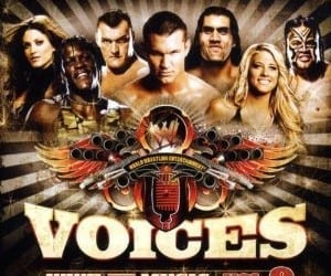 Voices Wwe The Music Vol 9 Cd Cover