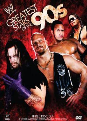 Wwe Greatest Wrestling Stars Of The 90s Dvd Cover