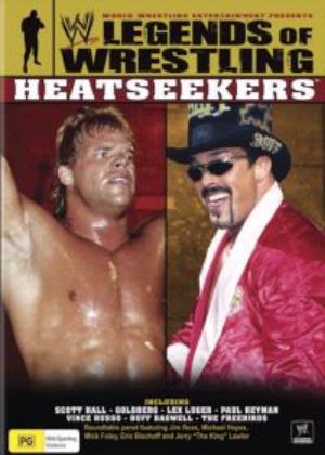 Legends Of Wrestling Heatseekers Dvd Cover