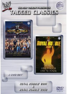 Wwe Tagged Classics Royal Rumble 2001 2002 Dvd Cover