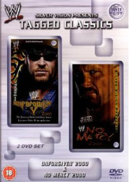 Wwe Tagged Classics Unforgiven 2000 No Mercy 2000 Dvd Cover
