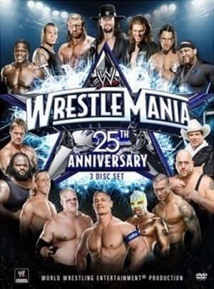 Wwe Wrestlemania 25 Dvd Cover