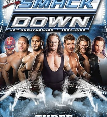 The Best Of Wwe Smackdown 10th Anniversary Dvd Cover 0