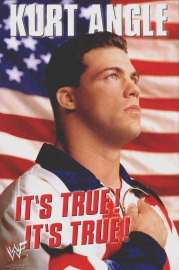 Kurt Angle Its True Its True Book Cover