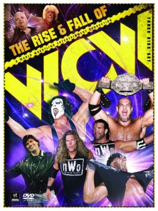 The Rise And Fall Of Wcw Dvd Cover