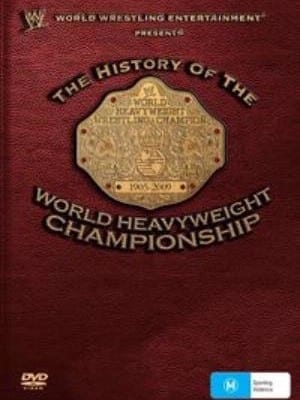 Wwe History Of The World Heavyweight Cover