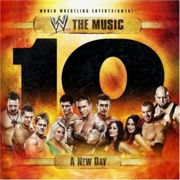 Wwe The Music A New Day Volume 10 Cd Cover