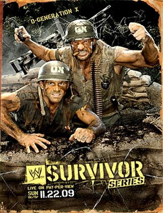 Wwe Survivor Series 2009 Dvd Cover