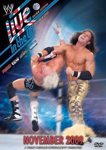 Wwe Live In The Uk November 2009 Dvd Cover