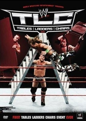 Wwe Tlc Tables Ladders And Chairs 2009 Dvd Cover