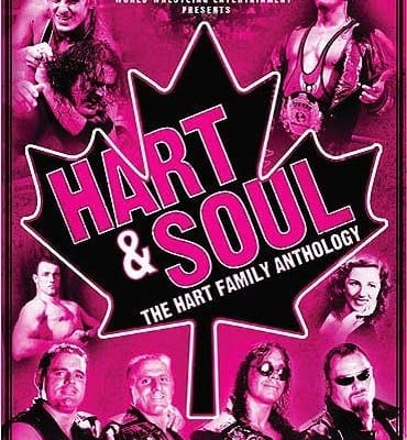 Wwe Hart Soul The Hart Family Anthology Dvd Cover