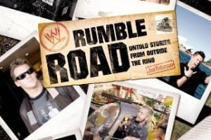 Wwe Rumble Road Untold Stories From Outside The Ring Book Cover