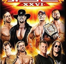 Wwe Wrestlemania 26 Dvd Cover