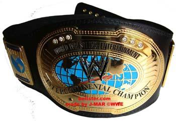 WWE 2002's J-Mar Intercontinental Title Belt