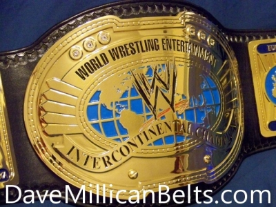 WWE 2010's Dave Millican Intercontinental Title Belt