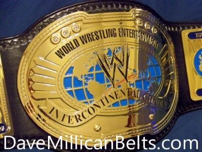 WWE 2010's Dave Millican Intercontinental Title Belt