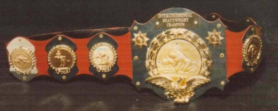 WWWF Intercontinental Title Belt