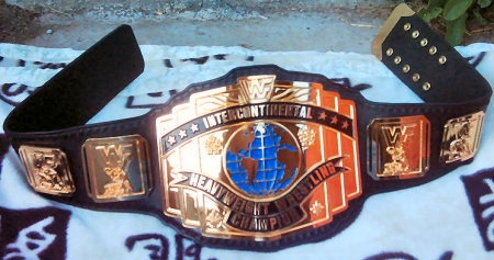 WWF Reggie IC 1988 Intercontinental Title Belt