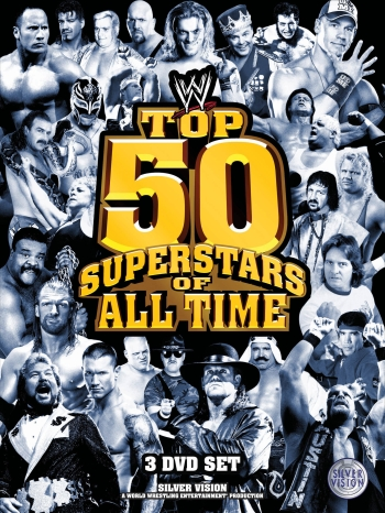 Wwe Top 50 Superstars Dvd