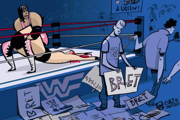 Wwe Wrestlemania 13 Bret Hart Steve Austin