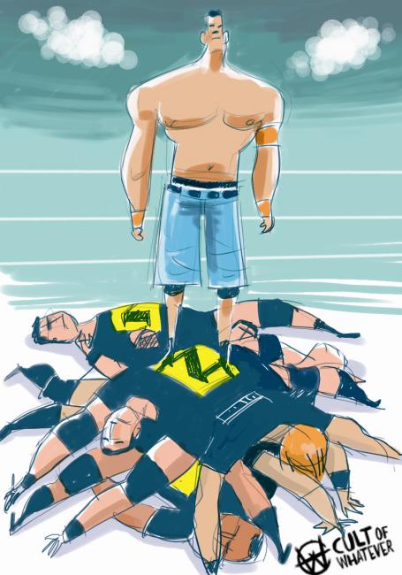Summerslam 2010 John Cena Nexus