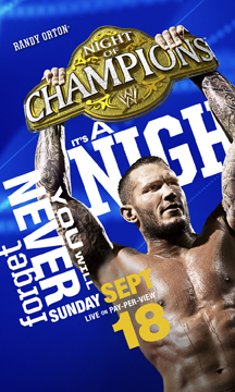 Wwe Nigh Of Champions 2011