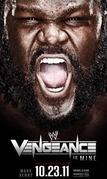 Wwe Vengeance 2011 Poster