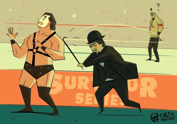 Survivor Series 1988 Demolition Mr Fuji