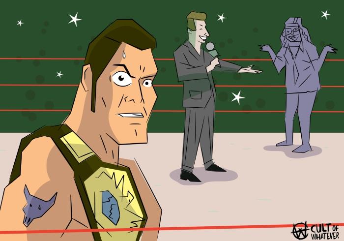 Survivor Series 1998 The Rock Mankind Vince McMahon