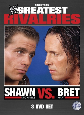 Wwe Rivalries Bret Hart Shawn Michaels