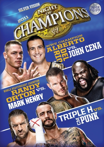 Wwe Night Of Champions 2011 Dvd