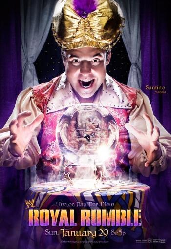 Wwe Royal Rumble 2012 Poster