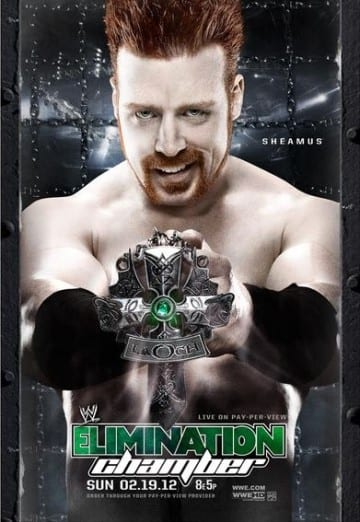Wwe Elimination Chamber 2012 Poster