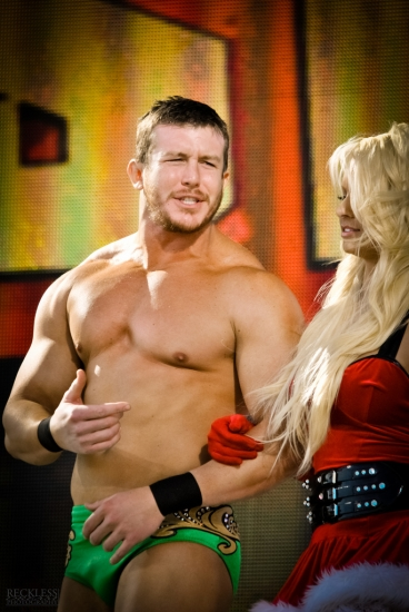 WWE Ted DiBiase with Maryse