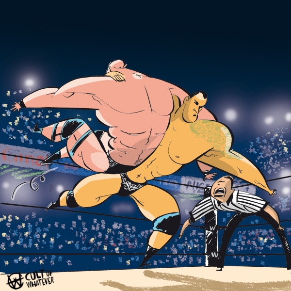 Cow Wrestlemania Matches 2
