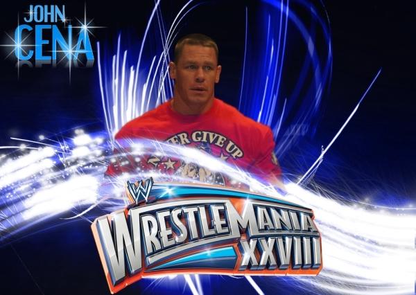 Wwe Wrestlemania 28 John Cena