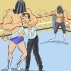 cow-wrestlemania-7-blindfold-match-rick-martel-jake-roberts