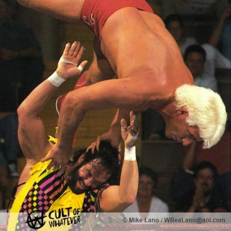Randy Savage Ric Flair Cow