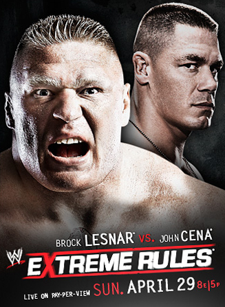 Wwe Extreme Rules 2012 Poster