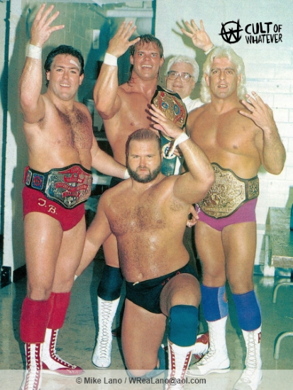 Four Horsemen JJ Dillion Tully Luger Flair Anderson
